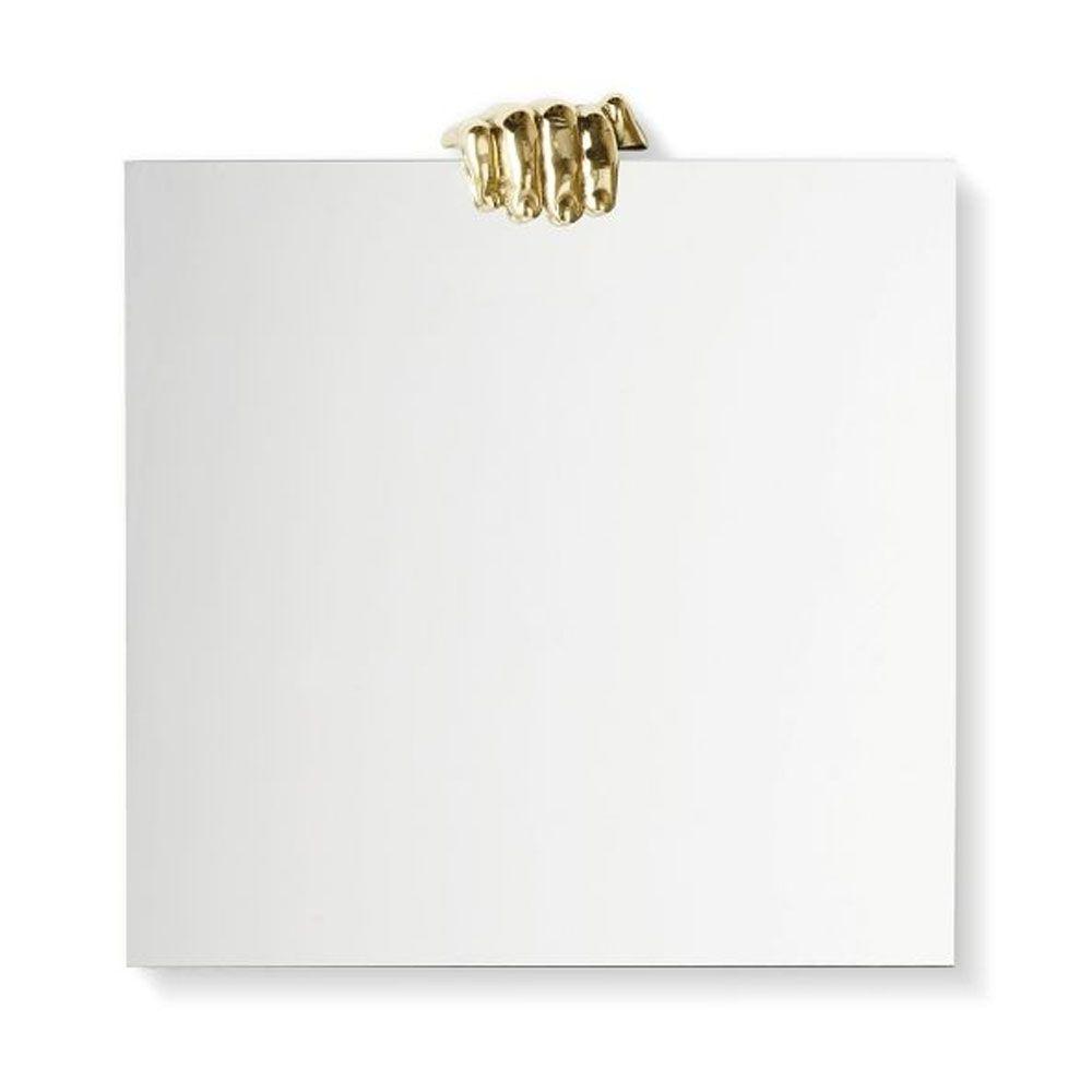 Καθρέπτης Τοίχου Selfie Square MSE2250 50x50cm Clear-Brass Mogg