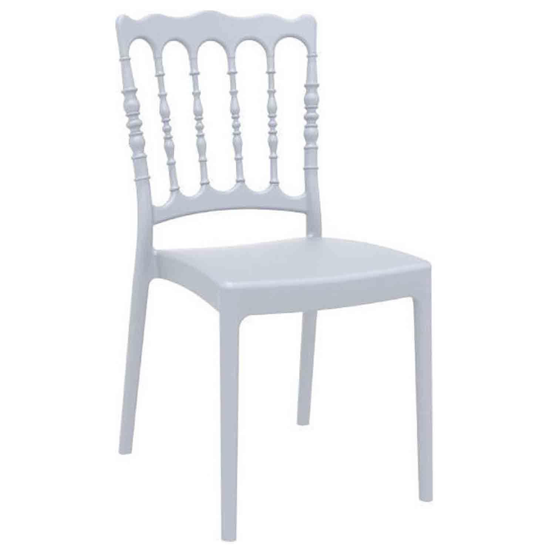 Καρέκλα Napoleon Silver Grey 20-0015 Siesta