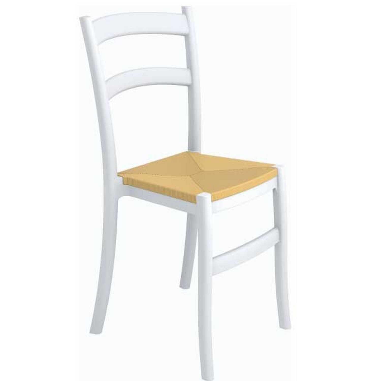 Καρέκλα Tiffany-S White 20-0050 Siesta