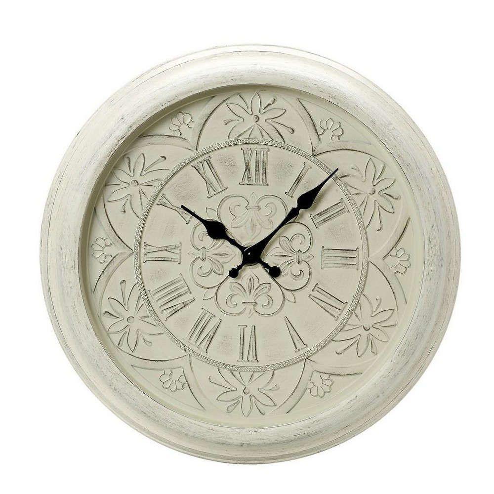 Ρολόι Τοίχου ROL416 Μπεζ 40x40x4cm Espiel
