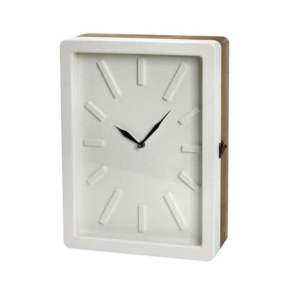 Ρολόι-Κλειδοθήκη GAD112 Λευκή 40x30x9cm Espiel