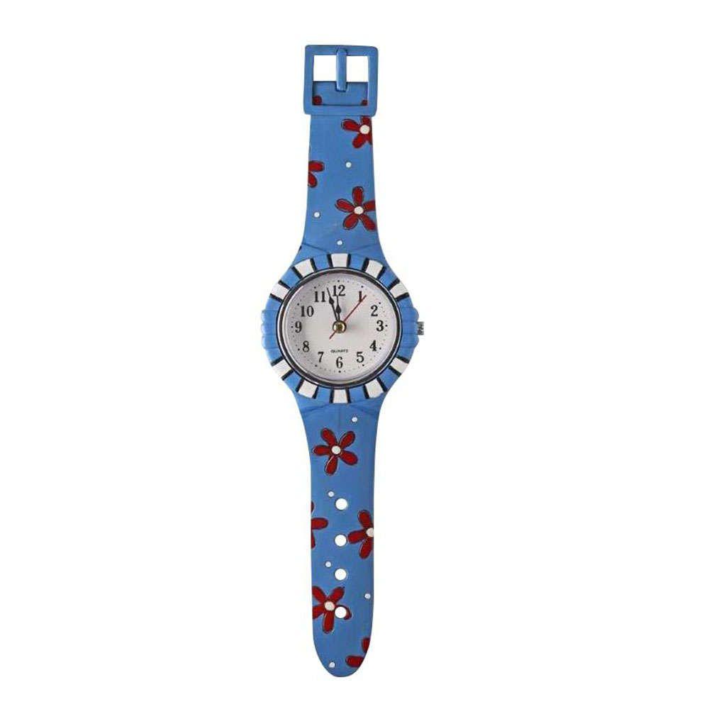 Ρολόι Τοίχου SP5760-01 Μπλε 33X9X3Cm Espiel