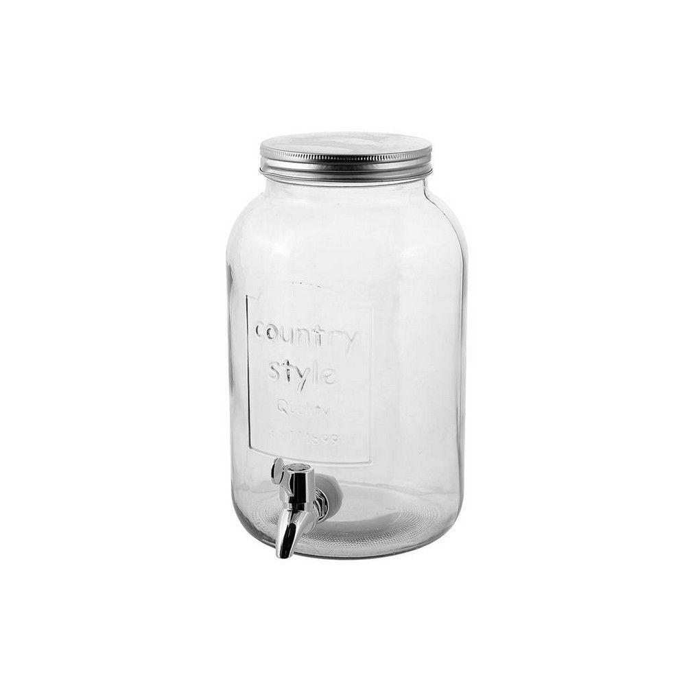 Δοχείο Με Βρυσάκι Μικρό Int8511 3.5Lt Clear Espiel