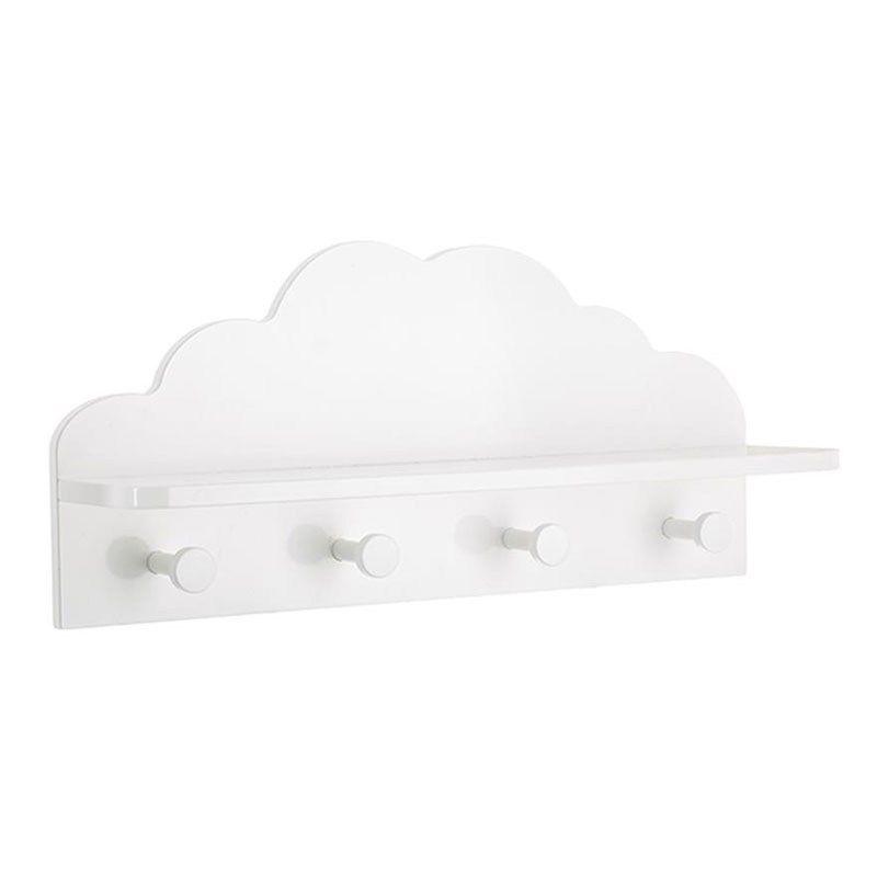 Κρεμάστρα Παιδική Σύννεφο 07.127163B 48Χ12Χ22cm White