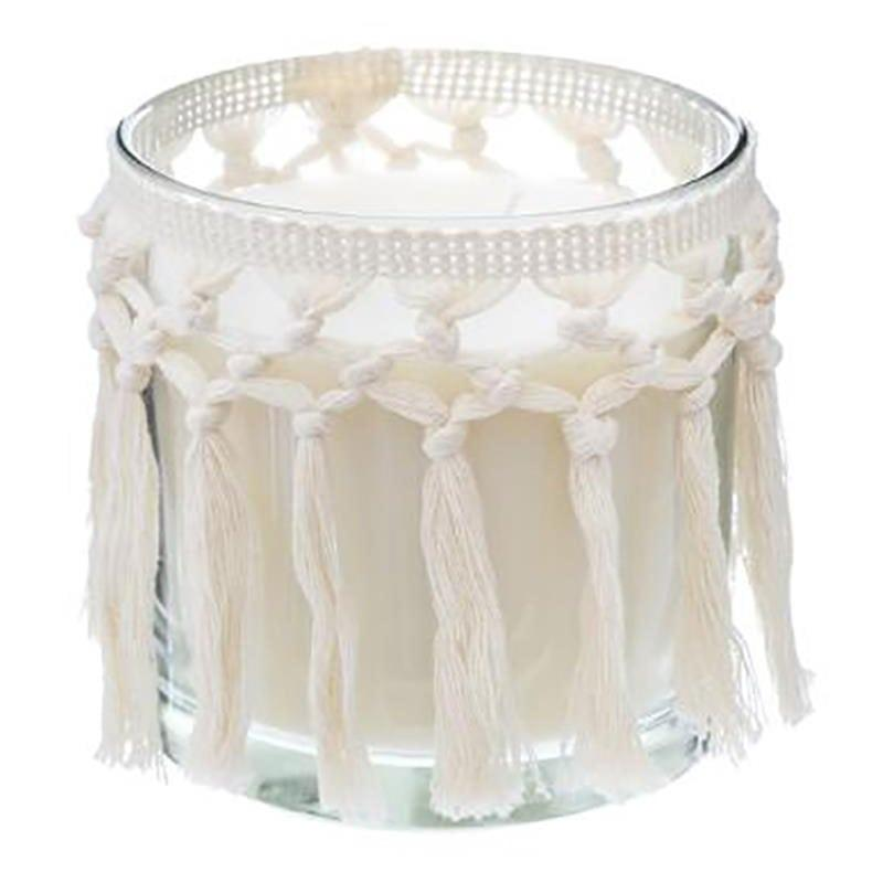 Αρωματικό Κερί Σε Βάζο Με Κρόσια Terre Pockwood 07.164874 12x12cm White