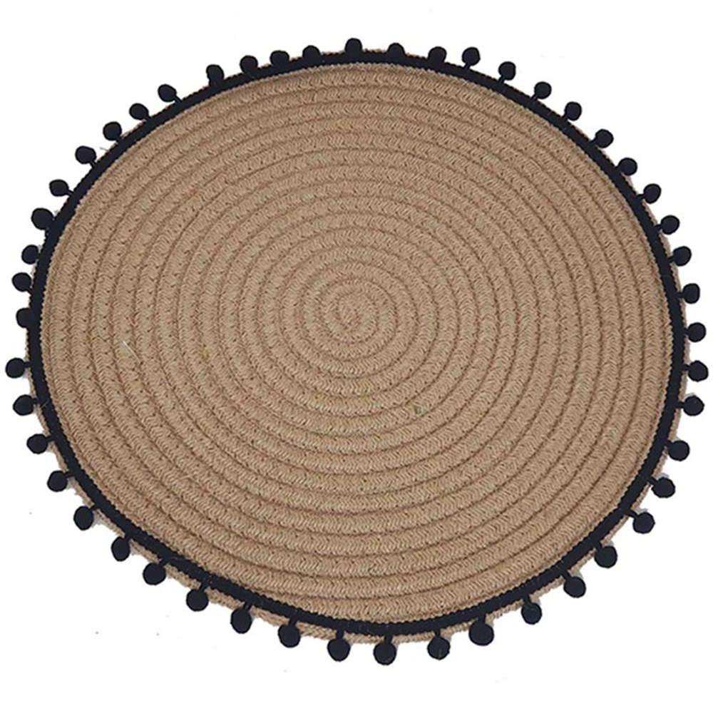 Σουπλά Πον Πον 00.06.6977 Φ38cm Beige-Black Plastona