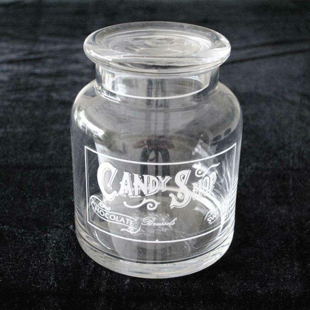 Βάζο Αποθήκευσης Με Καπάκι 00.03.3204 11x17cm Γυάλινο Clear Plastona
