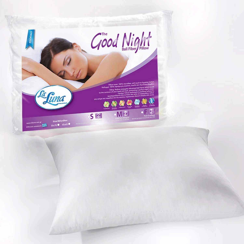 Μαξιλάρι Ύπνου Ballfiber Good Night Soft La Luna