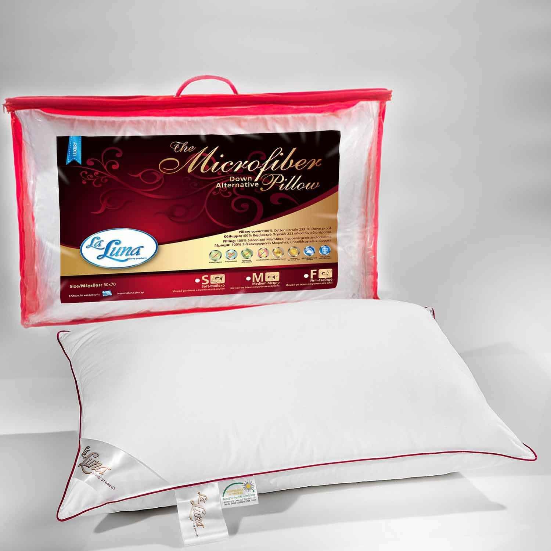 Μαξιλάρι Ύπνου Microfiber Medium La Luna