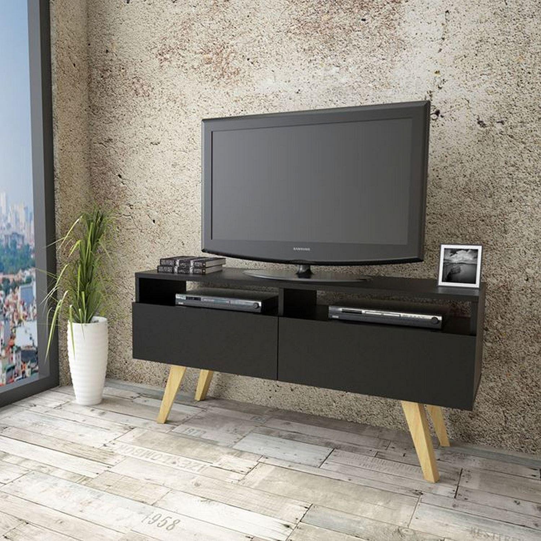Έπιπλο Τηλεόρασης HM2299.01 Μαύρο