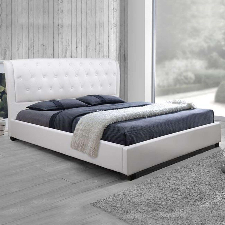 Κρεβάτι Odalys HM549.01 Με Τεχνόδερμα White