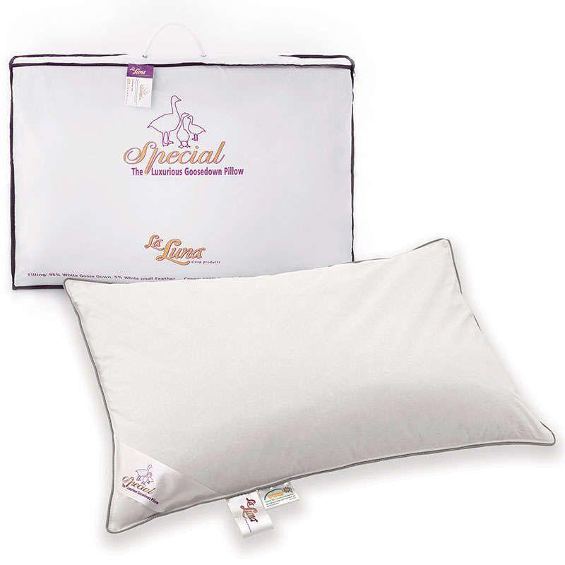 Μαξιλάρι Ύπνου The Special Goosedown Pillow White La Luna