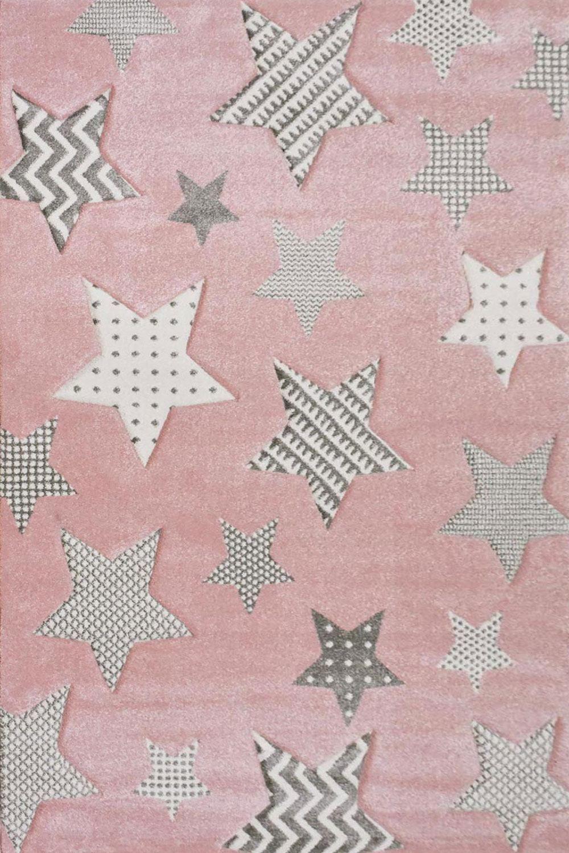 Χαλί Παιδικό Diamond 21895-55 Grey-Pink