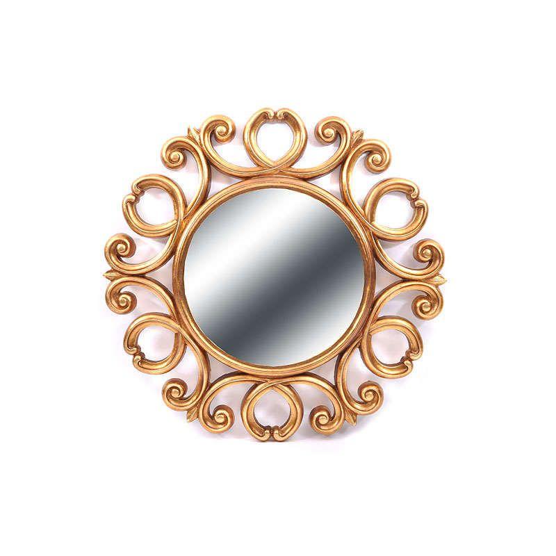 Καθρέπτης 708-21-101 FP-018 Gold