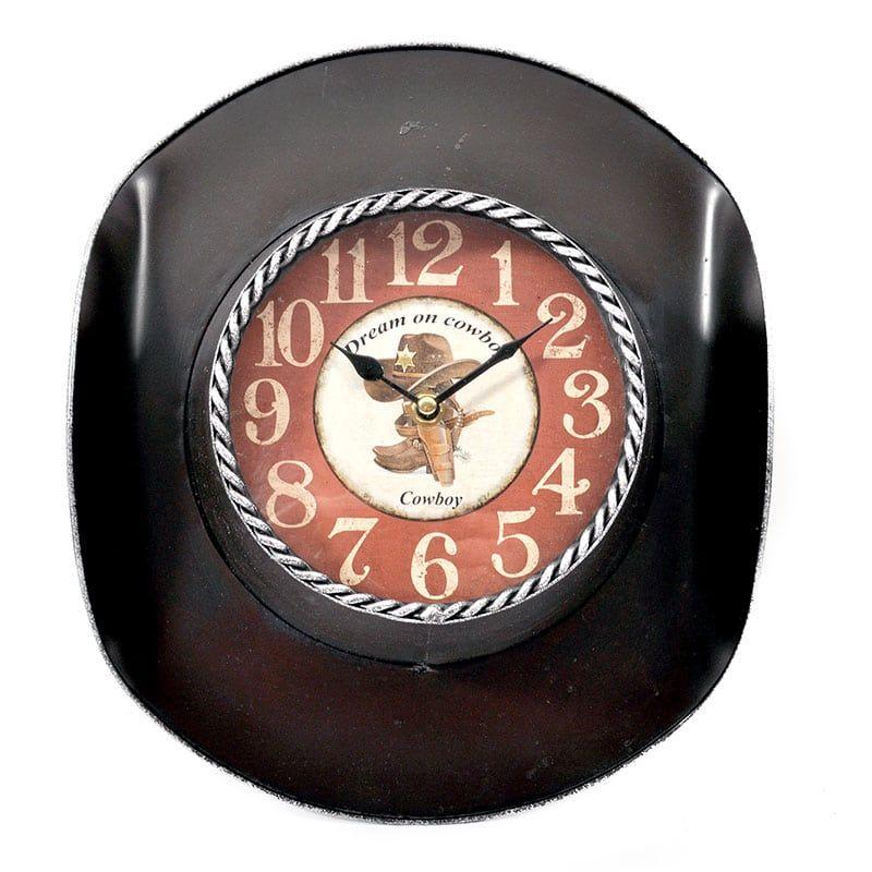Ρολόι Τοίχου 125-16-214 26x8x33 15ATC437 Dark Brown