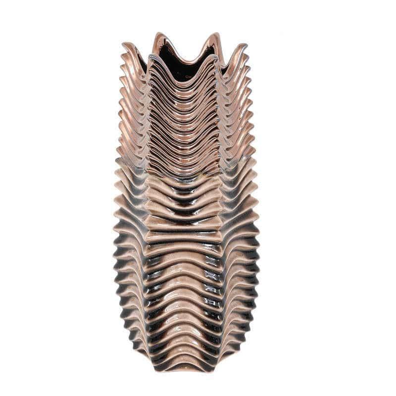 Βάζο Διακοσμητικό 31cm Bronze-Brown 1-0033-92-026 Etiquette