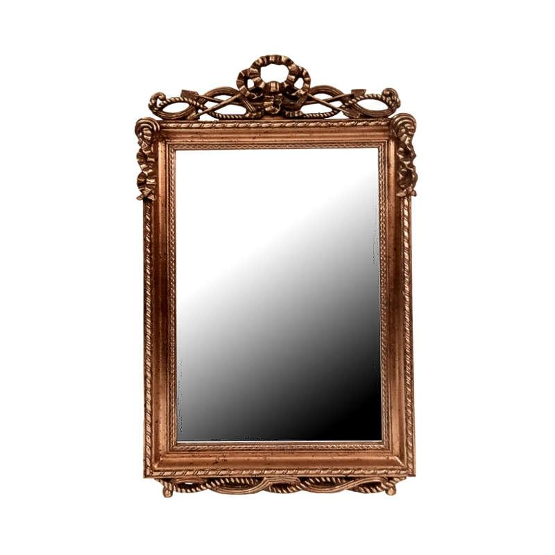 Καθρέφτης 53x6x88 (40x60)cm Gold 1-708-92-343 Etiquette