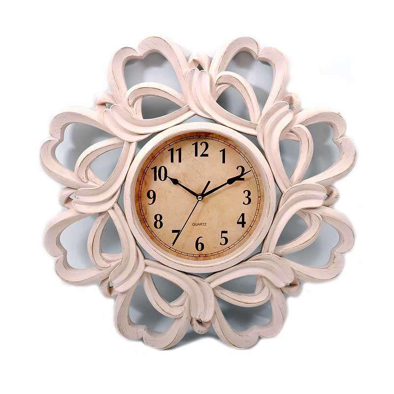 Ρολόι Τοίχου ΧΥΜ-2848-5 260-16-018 61cm Antique Beige