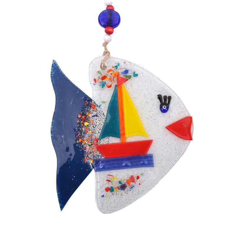 Γούρι Ψάρι 862-18-020 16cm White
