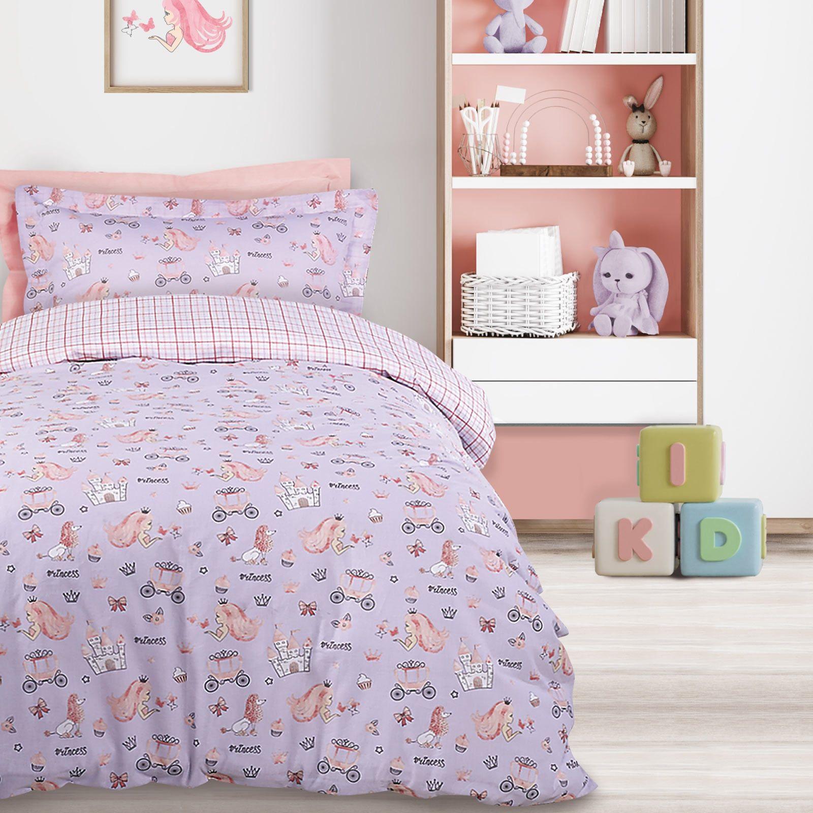 Πάπλωμα Παιδικό 4764 Pink-Lila Das Home