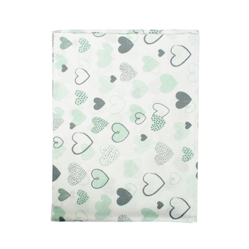Μαξιλαροθήκη Παιδική Hearts 10 Green DimCol