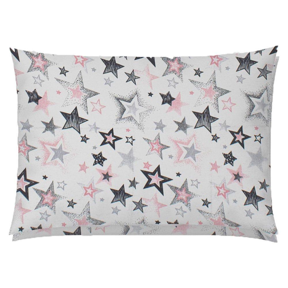 Μαξιλαροθήκη Παιδική Star 122 Grey-Pink DimCol