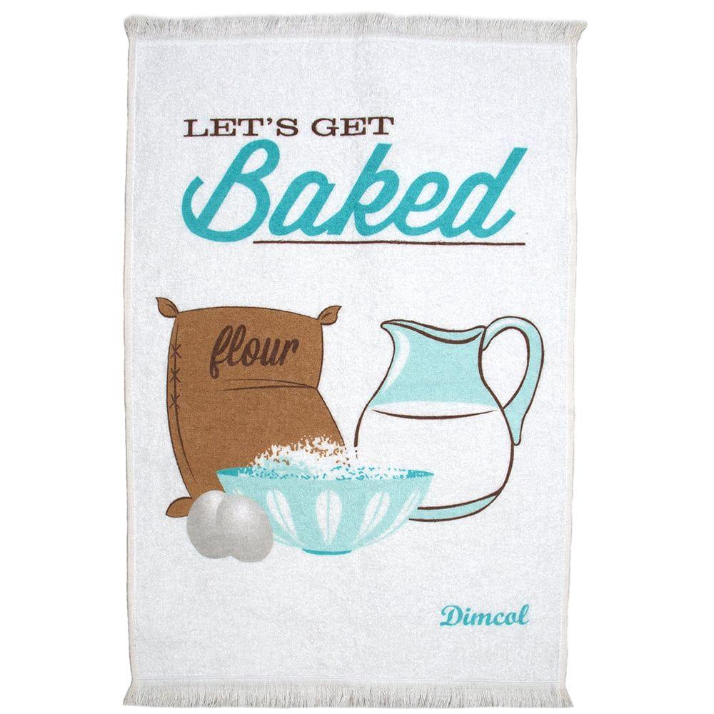 Πετσέτα Κουζίνας Baked 07 White DimCol