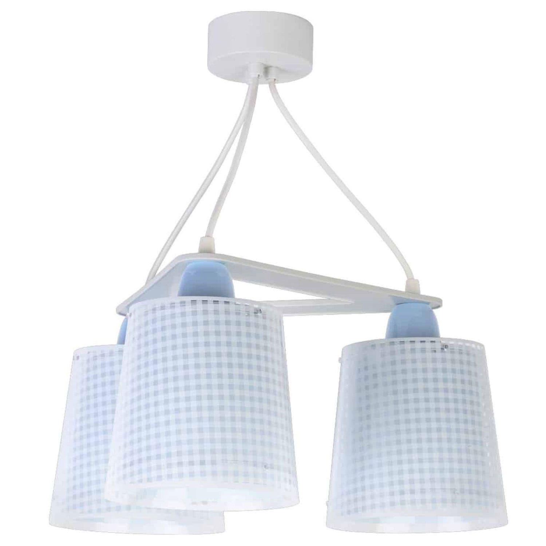 Φωτιστικό Τρίφωτο Οροφής Vichy 80224 T Blue Ango