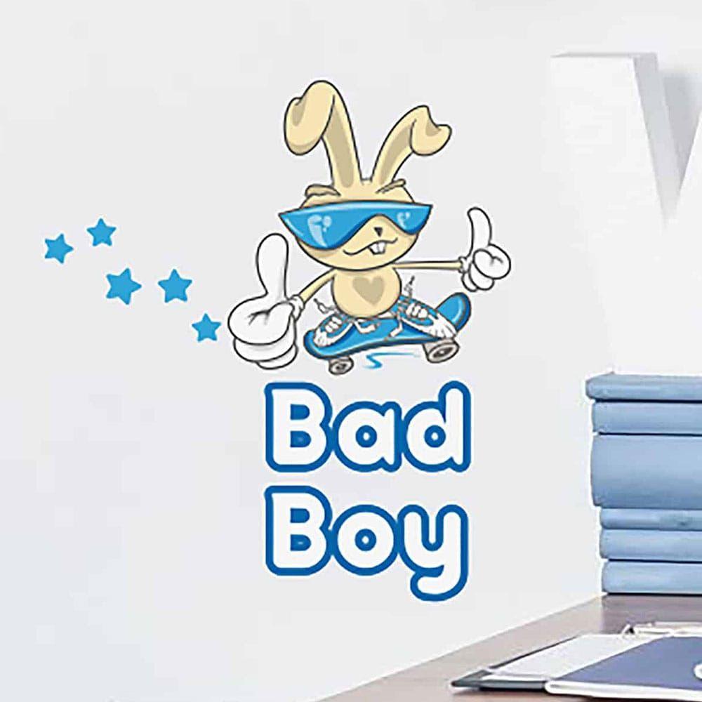 Αυτοκόλλητα Τοίχου Βινυλίου Bad Boy 11006 34X15,5Cm Ango