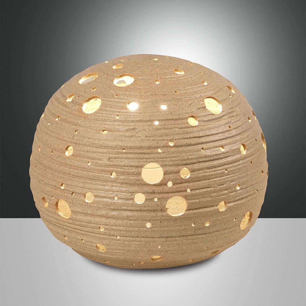 Φωτιστικό Επιτραπέζιο Corvara 3531-30-348 Khaki Fabas Luce