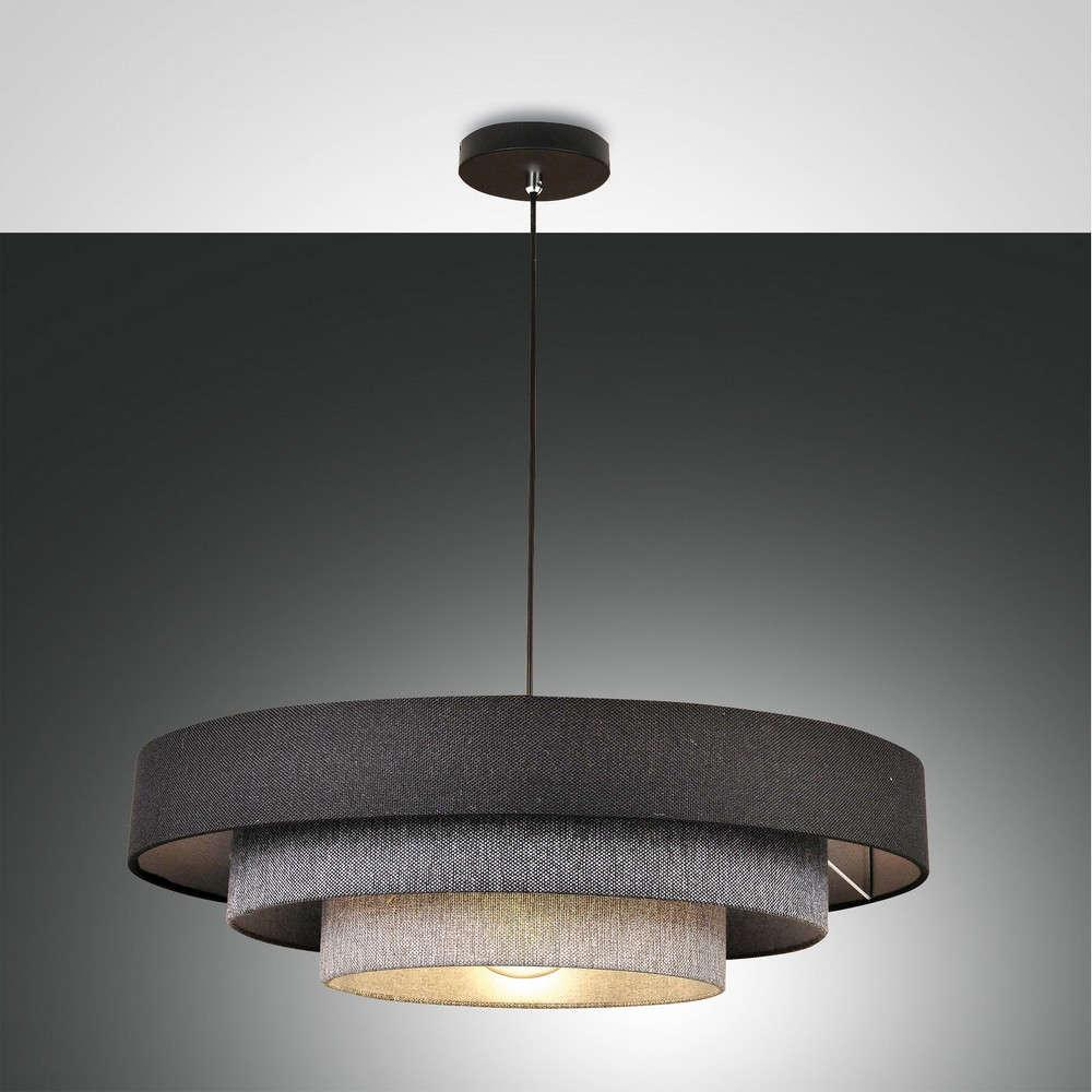 Φωτιστικό Οροφής Brava 3639-40-354 Shades Of Grey Fabas Luce