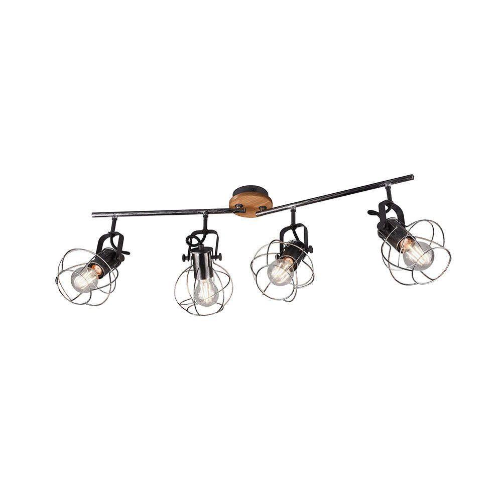 Φωτιστικό Οροφής - Σποτ Madras 805300488 Antique Silver Trio Lighting