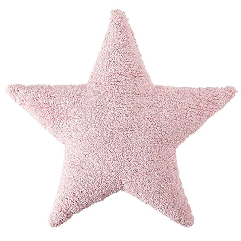 Μαξιλάρι Παιδικό Διακοσμητικό (Με Γέμιση) Αστέρι LΟR-SC-SΤ-ΡΚ Ροζ Lorena Canals