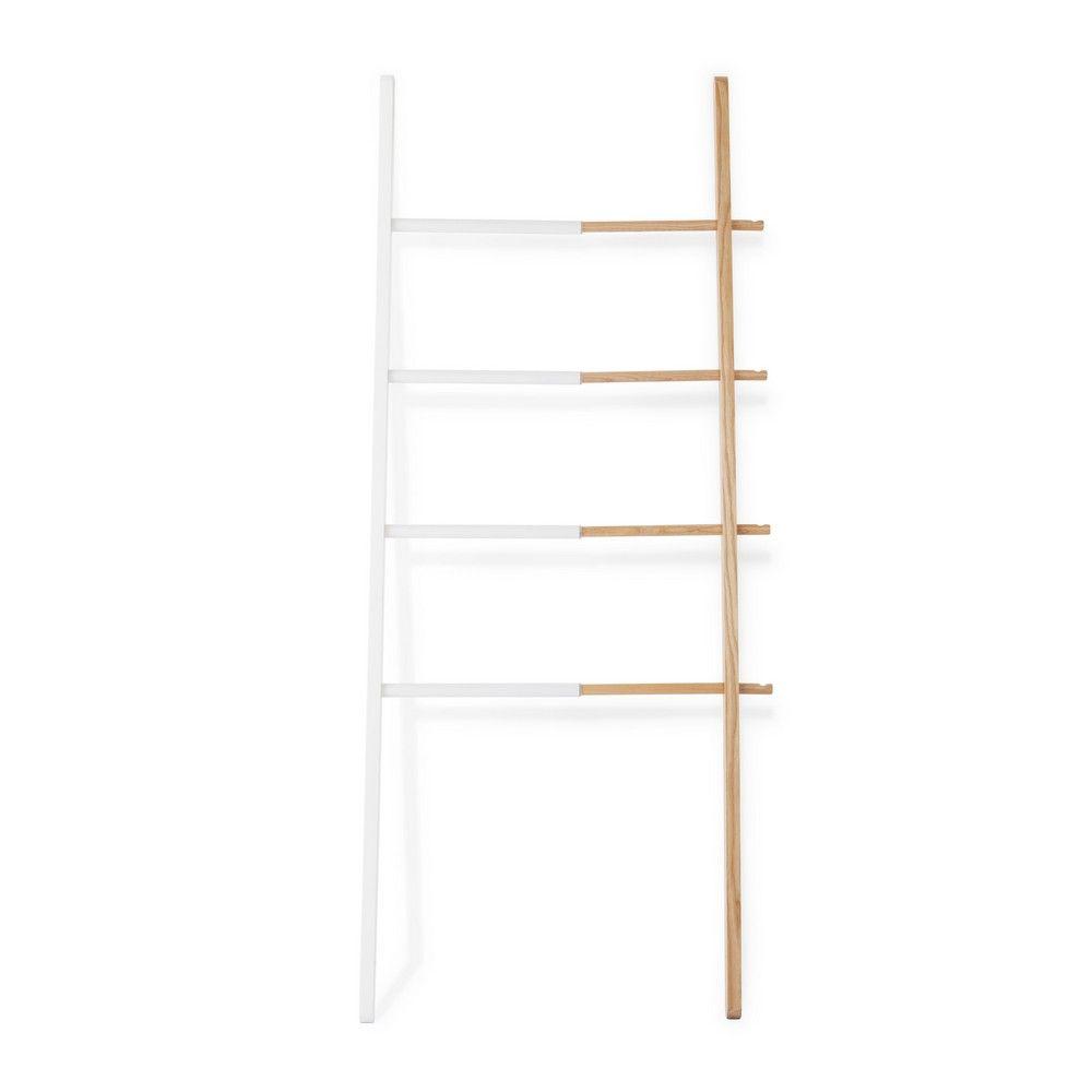 Διακοσμητική Σκάλα - Κρεμάστρα Hub Ladder 320260-668 H152,5 White-Natural Umbra