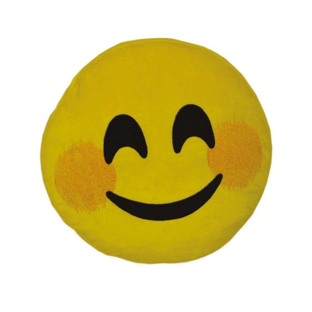 Μαξιλάρι Διακοσμητικό Παιδικό (Με Γέμιση) Εmoji Yellow Homeline