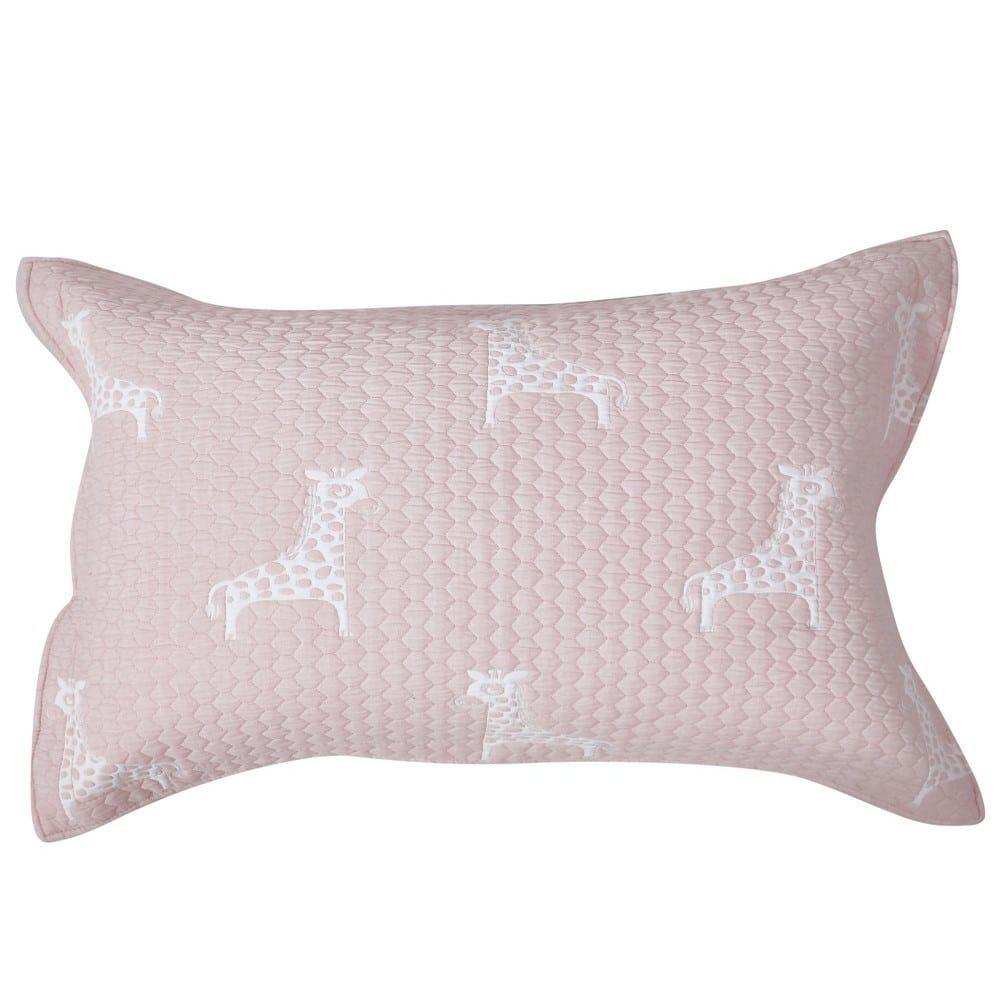 Μαξιλαροθήκη Διακοσμητική Παιδική Giraffe 18 Dusty Pink Kentia