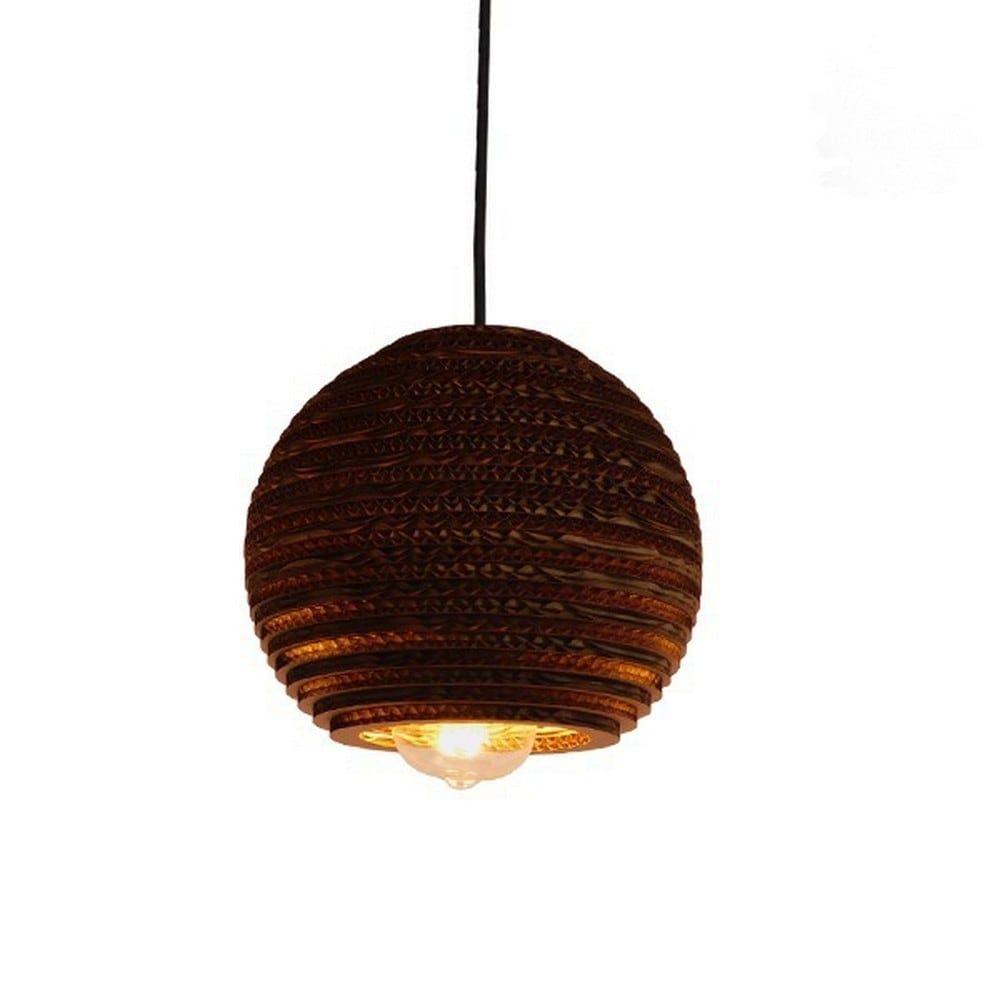 Φωτιστικό Οροφής 3D Santorini 01288 Brown GloboStar