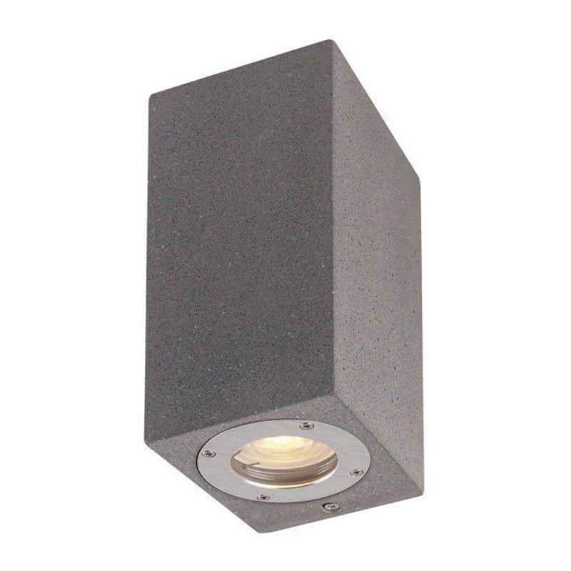 Φωτιστικό Οροφής - Τοίχου MK0532SB Up-Down IP65 2XGU10 Black Aca Decor