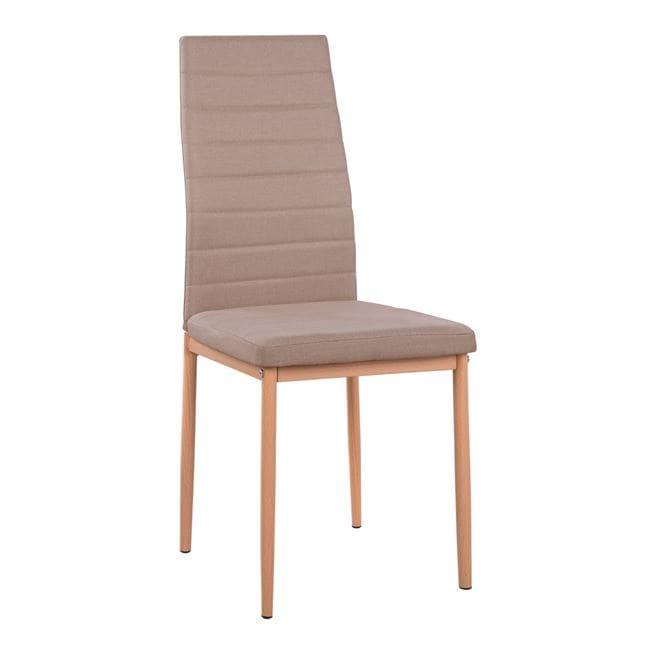 Καρέκλα Lady HM0037.14 Beige 40x48x95 εκ. Σετ 4τμχ