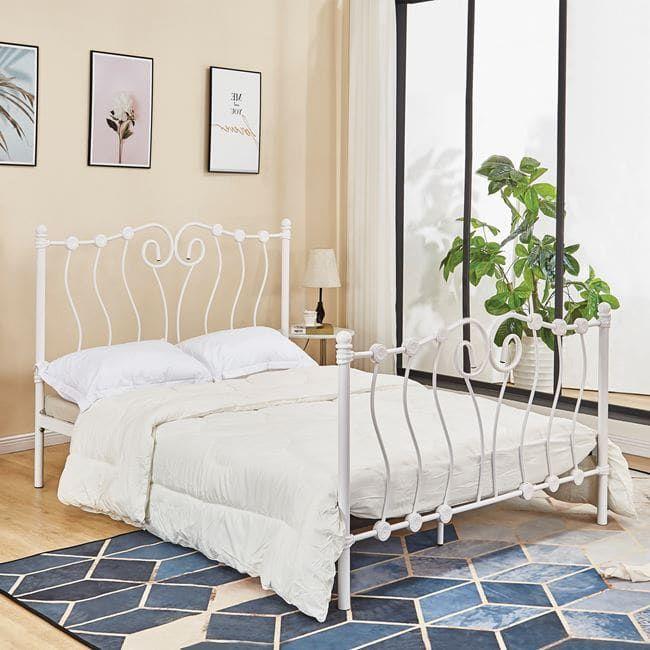 Κρεβάτι HM587.02 150x200 White