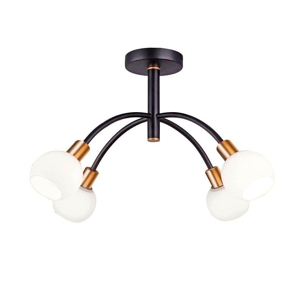 Φωτιστικό Οροφής - Πλαφονιέρα Elisa 4215200 Black Viokef