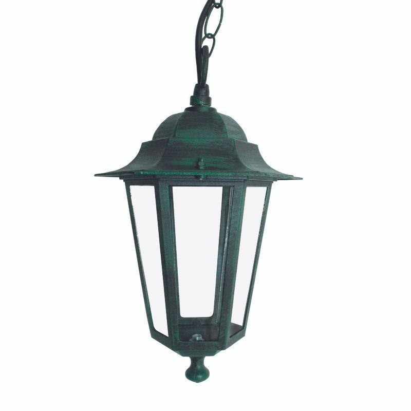 Φωτιστικό Οροφής Κρεμαστό HI6025V Green-Black Aca