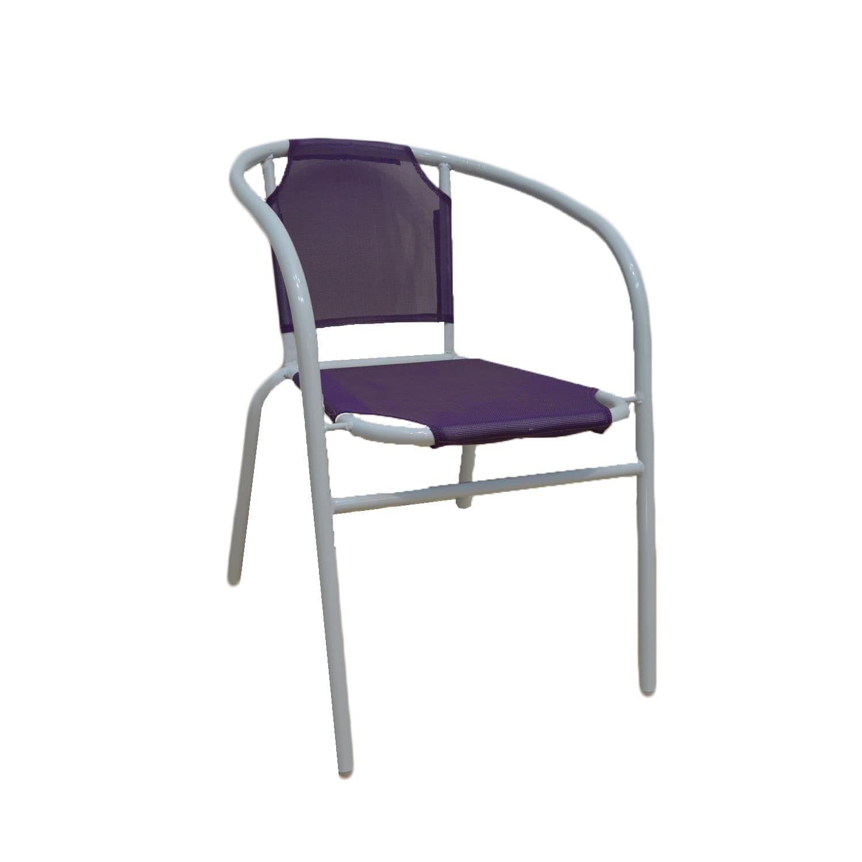 Πολυθρόνα Μoon Purple 54X46X71 cm