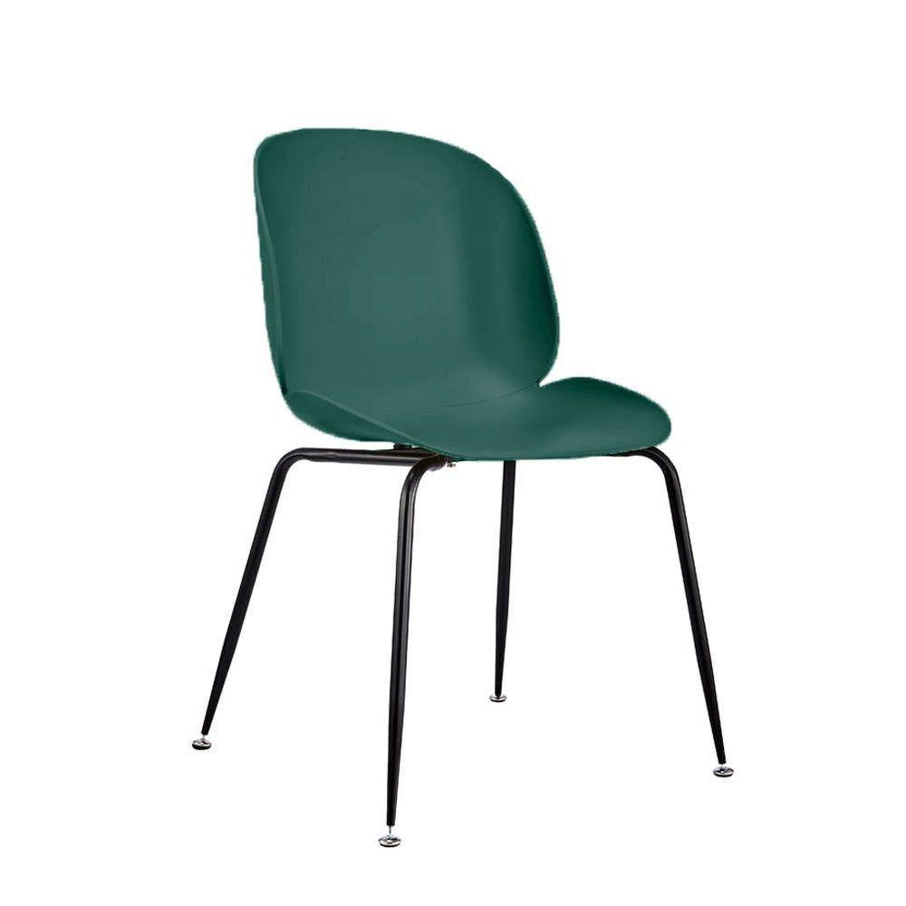 Καρέκλα Τραπεζαρίας Minimal 56x58xH84,5cm Green-Black 03-0610 Σετ 4τμχ