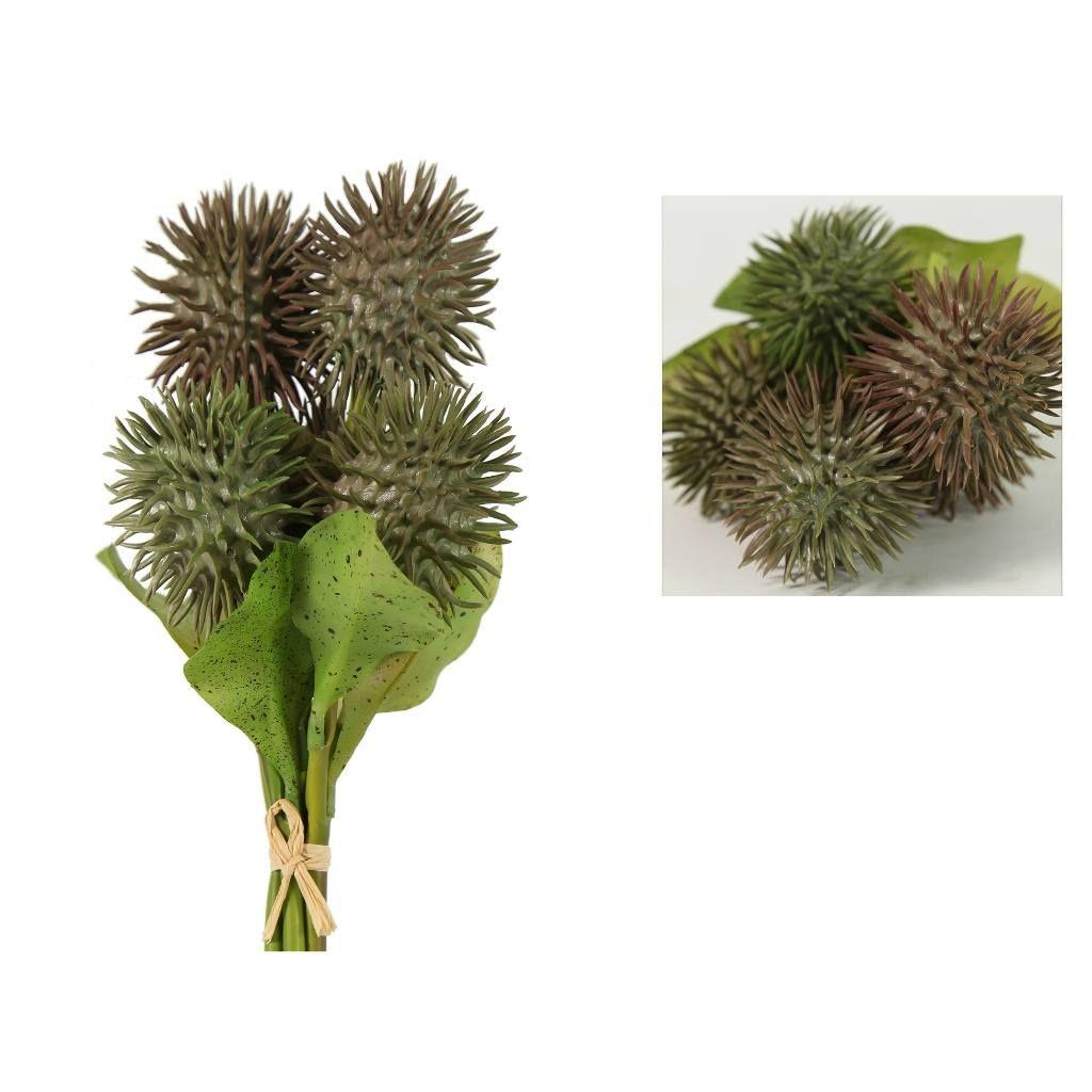 Λουλούδι Arctium Rico S5 06-0290 11x11x30Ycm Grey-Purple