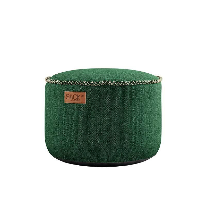 Πουφ Cobana Green D50xH35cm Sackit