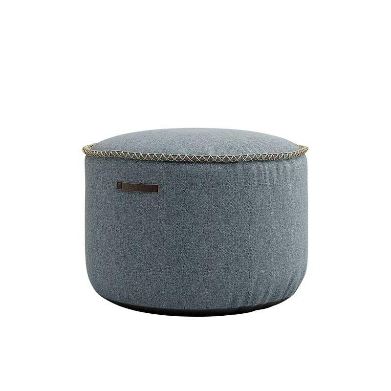 Πουφ Medley Dusty Blue D50xH35cm Sackit