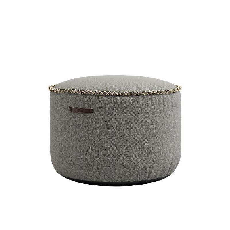 Πουφ Medley Grey D50xH35cm Sackit