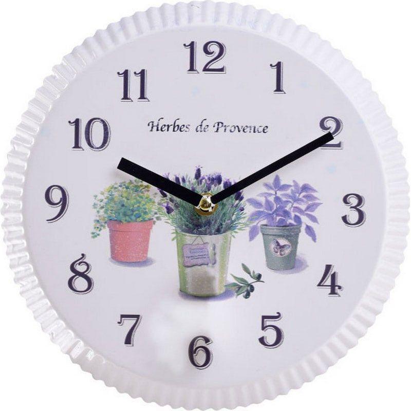 Ρολόι Τοίχου Δ25Χ3 White 3-20-773-0315 Inart