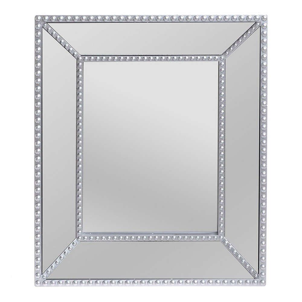 Καθρέπτης Τοίχου 3-95-956-0009 Silver 32Χ5Χ37 Inart